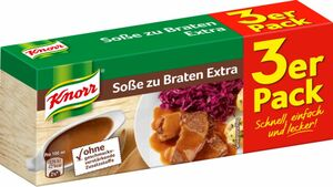 Knorr Bratensauce Extra ergibt 3 x 250 ml