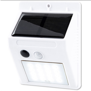 I-Glow Solar Wand- & Sicherheitsleuchte, weiß