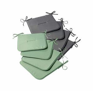Home Stuhlkissen in verschiedenen Farben, ca. 38x38cm, 4er Pack