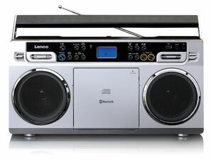 Lenco Vintage-Ghettoblaster mit CD-Player, USB und Bluetooth