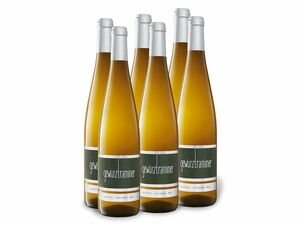 6 x 0,75-l-Flasche Weinpaket Gewürztraminer Alto Adige DOC trocken, Weißwein