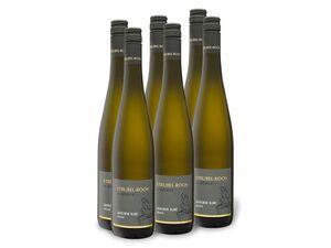 6 x 0,75-l-Flasche Weinpaket Weingut Strubel-Roos Sauvignon Blanc QbA trocken, Weißwein