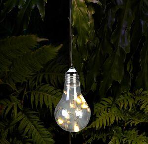 Solar-Glühbirne zum Aufhängen, ca. 5,5x10cm