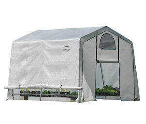 ShelterLogic-Folien-Gewächshaus, B x H x T ca. 300 x 240 x 300 cm