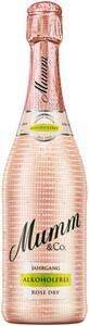 Mumm Rosé Dry Jahrgang Alk.frei, trocken