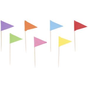 Cocktailspieße mit Flagge