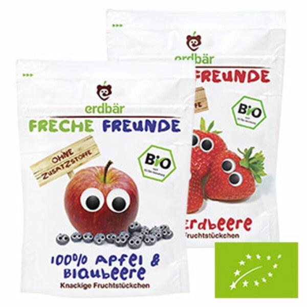 Freche Freunde Fruchtchips versch. Sorten, jede 12/14/16-g-Packung