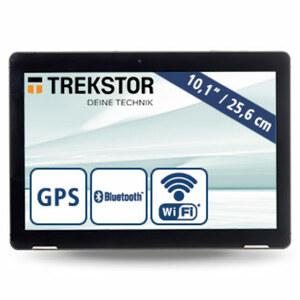 "Tablet ""Surftab B10"" · HD-IPS-Display · Quad-Core-Prozessor (bis zu 1,5 GHz) · 2 Kameras (0,3 MP/2 MP) · microSD™-Slot bis zu 256 GB · Android™ 8.1"