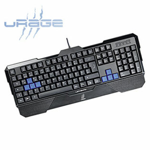 """Gaming Keyboard """"uRage Lethality"""" • QWERTZ-Layout • reaktionsschnell • Anti-Ghosting"""