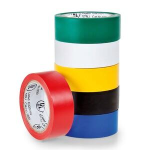 HEITECH PVC-Isolierband, 6 Farben-Set