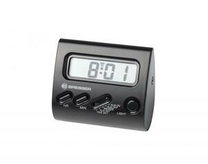 Bresser® Wecker Yo-Yo mit LCD-Display - schwarz