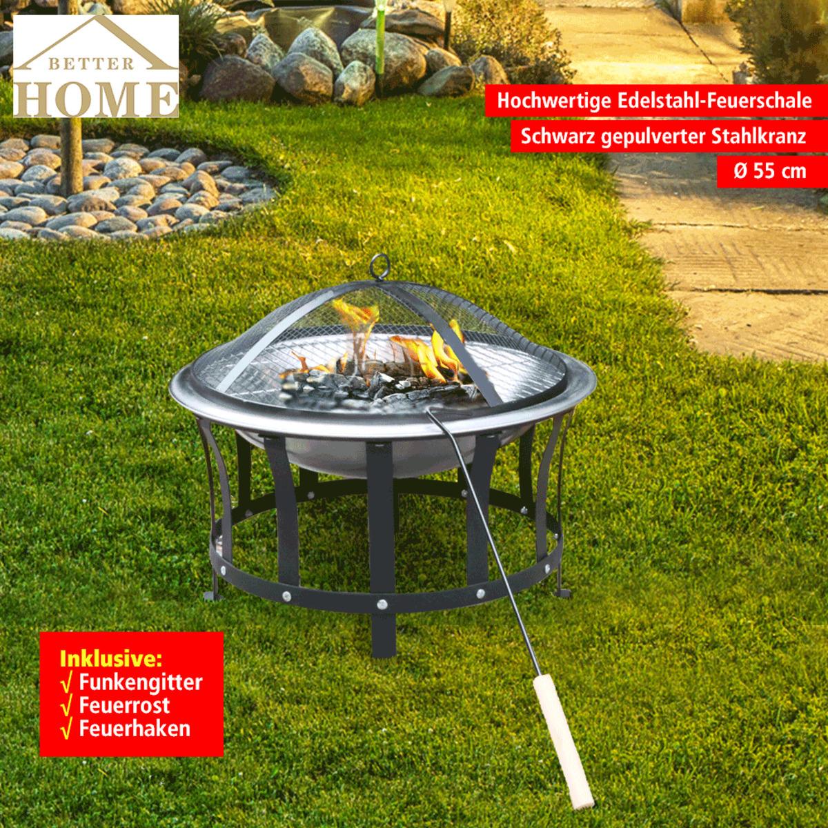 Bild 1 von Better Home Edelstahl-Feuerschale