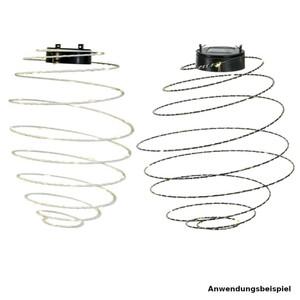 Solar LED-Lampe aus Metall mit 40 LED und Aufhängung