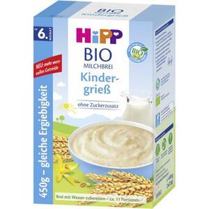 HiPP Bio-Milchbrei Kindergrieß ab dem 6. Monat 8.87 EUR/1 kg