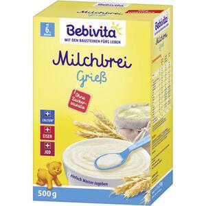 Bebivita Milchbrei Grieß ab dem 6. Monat 5.90 EUR/1 kg