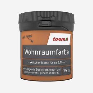 toomEigenmarken -              toom Wohnraumfarbe 'Orange' 0,075 l matt