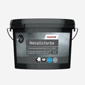 toomEigenmarken -              toom Metallicfarbe Silber 1 l