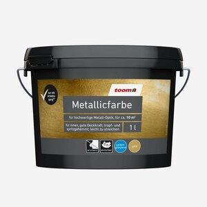 toomEigenmarken -              toom Metallicfarbe Gold 1 l