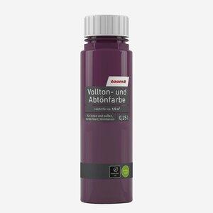 toomEigenmarken -              toom Vollton- und Abtönfarbe aubergine seidenmatt 250 ml