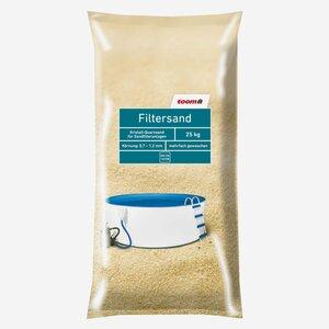 toomEigenmarken -              toom Filtersand für Sandfilteranlagen, Körnung 0,7 - 1,2 mm, 25 kg