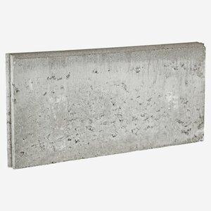 Rasenkante grau 100 x 15 x 5 cm