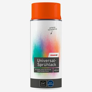 toomEigenmarken -              toom Universal-Sprühlack hochglänzend reinorange 400 ml
