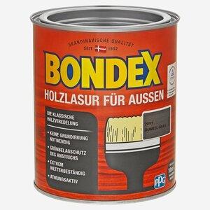 Bondex -              Bondex Holzlasur dunkelgrau 750 ml