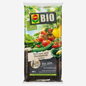 Compo -              Compo Bio-Tomaten- und Gemüseerde 40 l
