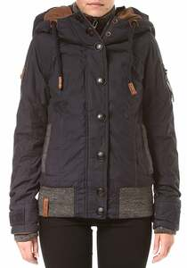 NAKETANO Shortcut IV - Jacke für Damen - Blau