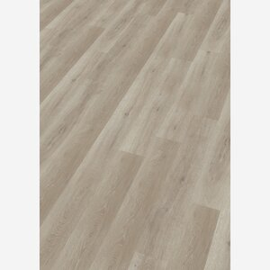 Vinyl-Fußbodenbelag 'Decolife' White washed Oak 1220 x 185 x 10,5 mm