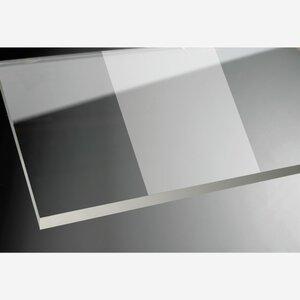 """toomEigenmarken -              toom Duschabtrennung """"Beta Intima"""" Seitenwand 190 x 98,7 cm chromfarben"""