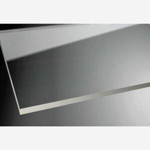 """toomEigenmarken -              toom Duschabtrennung """"Beta"""" Seitenwand chromfarben 190 x 120 cm"""