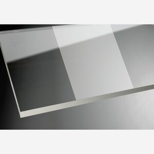 """toomEigenmarken -              toom Duschabtrennung """"Beta Intima"""" Seitenwand 190 x 98,7 cm titanfarben"""