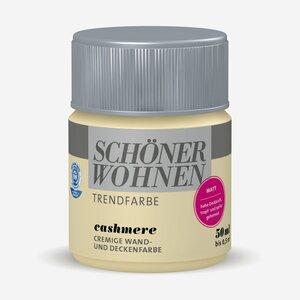 SchoenerWohnen -              Schöner Wohnen Wand- und Deckenfarbe Trendfarbe 'Cashmere' beige matt Tester 50 ml