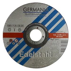 Trennscheibe Edelstahl 125x1x22,23mm 6Stück Trennen Edelstahl Metall