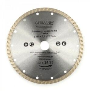 Diamanttrennscheibe 180x2,5x22,2mm Turbo Granit Beton Stein Trennscheibe