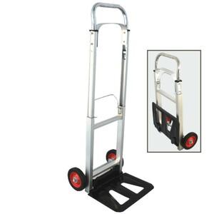 Sackkarre 90kg Alu klappbar Transportkarre Transportwagen Handwagen Stapelkarre