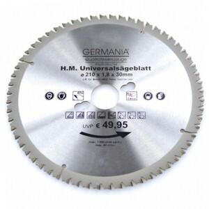 HM Multi Sägeblatt 210x30 mm 60 Zähne universal