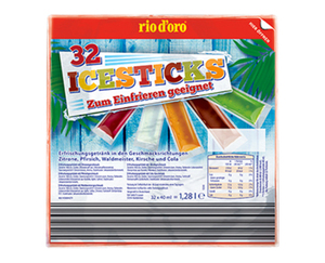 rio d'oro®   32 Ice Sticks