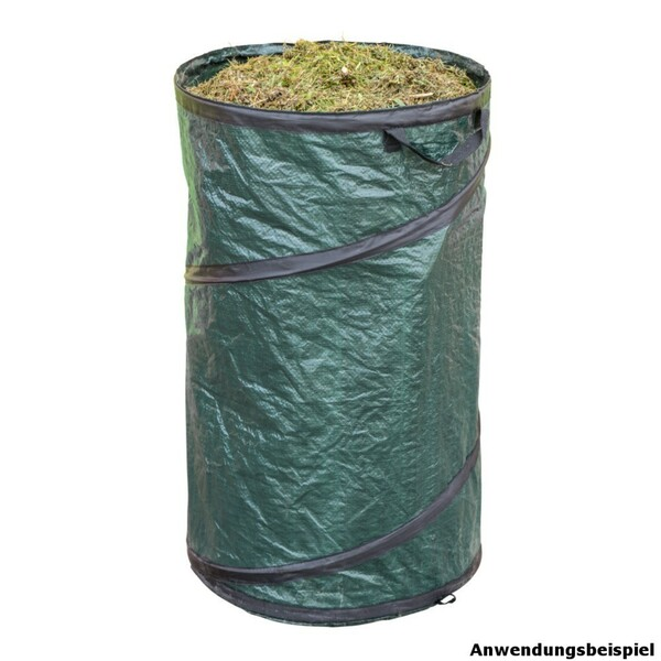 Gartentasche PopUp 45 x 75 cm mit 120 Liter selbststehend