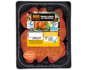 BBQ Hähnchenschenkel XXL-Packung, gewürzt
