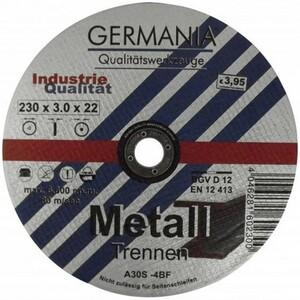 Trennscheibe Metall 230x3,0 Industriequalität Trennen