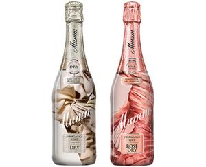 """Mumm Rosé Dry oder Dry Jahrgangssekt """"Limitierte Art-Edition"""""""