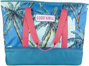 2-in-1 Strand-und Kühltasche - aus Polyester - 50 x 13 x 20 cm