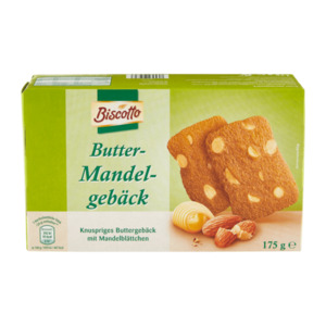 BISCOTTO     Butter-Mandelgebäck