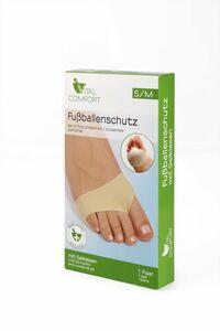 Vital Comfort Fußpflegeartikel - Fußballenschutz - Gr. S/M