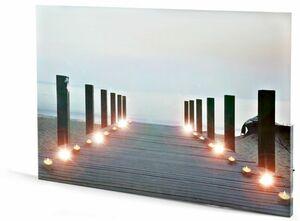 Dekor LED Wandbild - Beach