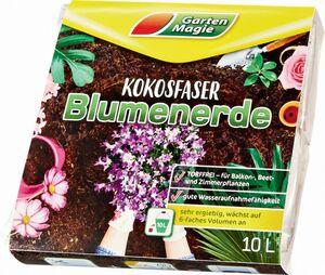 Garten Magie Kokos- / Blumenerde gepresst
