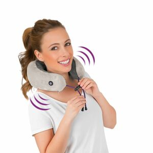 VITALmaxx Massagekissen Nacken 3V anthrazit/grau
