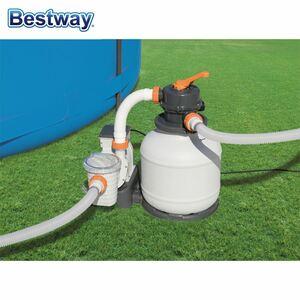 Bestway #58495 Sandfilter-Anlage mit Zeitschaltuhr 3.785l/h